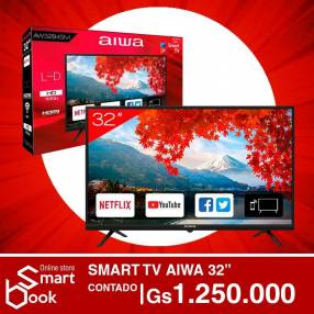 SMART TV AIWA 32 pulgadas