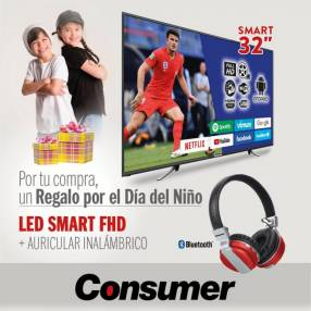 Smart TV FHD Consumer de 32 pulgadas
