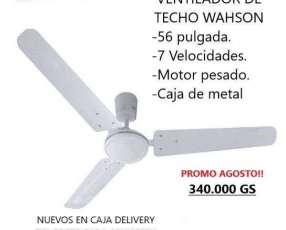 Ventilador de techo wahson 7v 56
