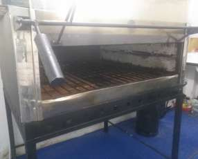 Horno pizzero impecable combinado