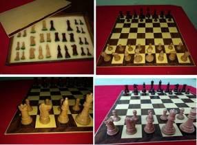 Juego de ajedrez de plástico de gran calidad tipo acrílico