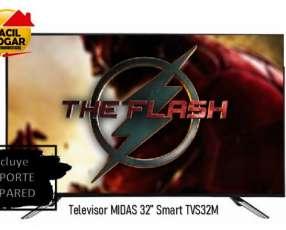 Smart TV LED de 32 Midas HD con Wifi