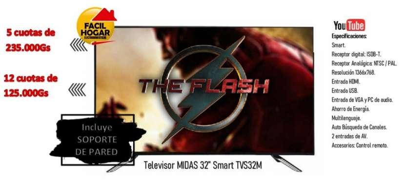 Smart TV LED de 32 Midas HD con Wifi - 0