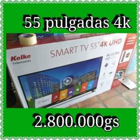 Smart Tv 4K ultra HD de 55 pulgadas