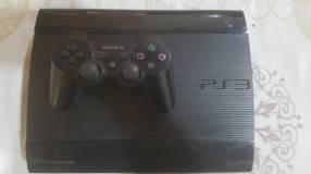 PS3 con 1 control y todos los accesorios