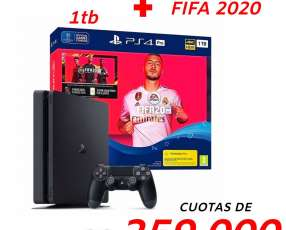 PS4 de 1TB con Fifa 2020