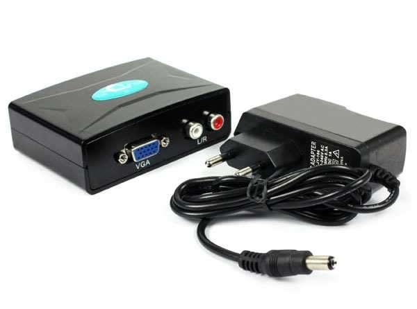 Conversor De Video VGA a HDMI - 0