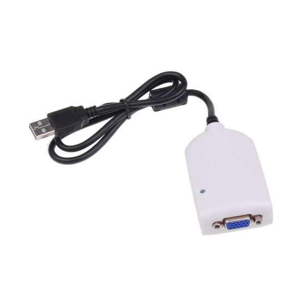 Adaptador VGA a USB 2.0 - 0