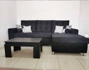 Sofa esquinero cheslong elegan