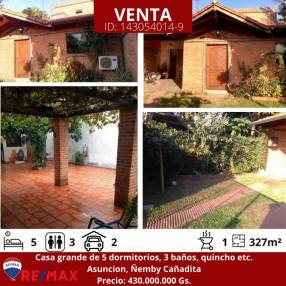 Casa dos pisos en Ñemby, Cañadita