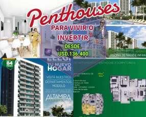 Penthouses en Altamira Surubi'i