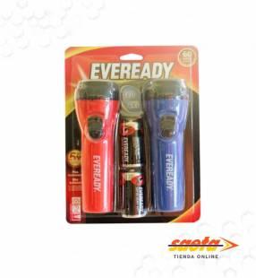 Linterna LED Eveready Plastx2 +2D