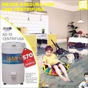 Centrifugadora tambor JAM