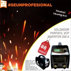 Soldador portátil VCP inverter 200 A