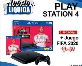 Play Station PS4 slim con juego Fifa 2020