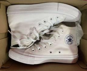Calzado Converse blanco calce 36