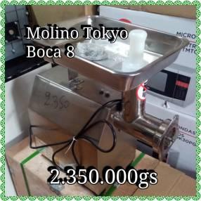 Molino de carne Tokyo boca 8 semi industrial