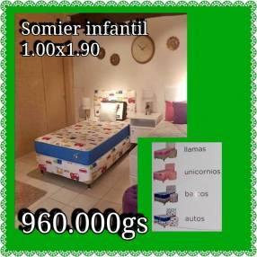 Sommier Infantil 1.00x1.90