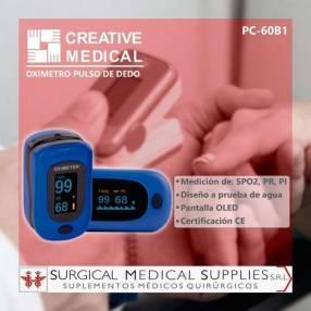 Oxímetro de dedo Creative Medical PC-60B1