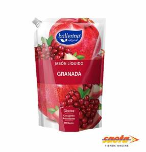 Ballerina jabón líquido antioxidante granada doypack 900 ml