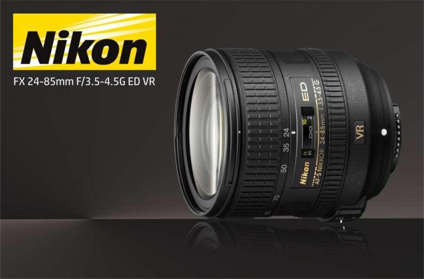 Lente Nikon FX 24-85mm F/3.5-4.5G ED VR - 0