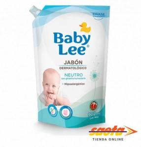 Jabón líquido Baby Lee con aroma neutro de 900 ml
