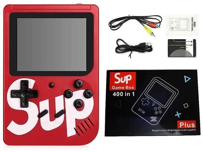 Consola portátil retro mini 3.0 con 400 juegos clásicos - 2