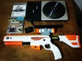 Accesorios ps3 pistola más dj hero