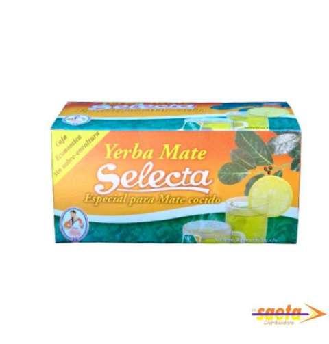 Mate cocido especial Selecta 25 saquitos