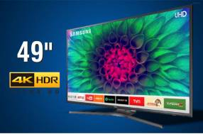 Televisor smart led Samsung 4K ultra HD HDR 49 pulgadas