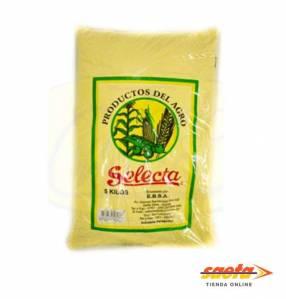 Harina de maíz Selecta 5 kilos