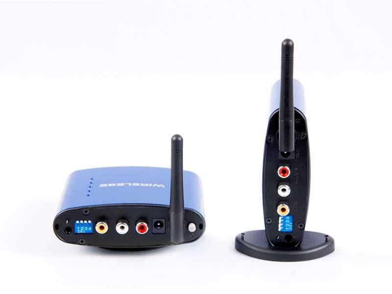 Wireless Av Transmisor, Receptor De Video y Audio RCA - 1