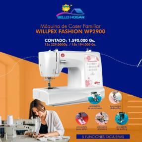 Máquina de coser Willpex Fashion WP2900