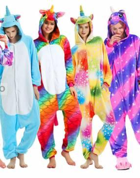 Pijamas de varios personajes
