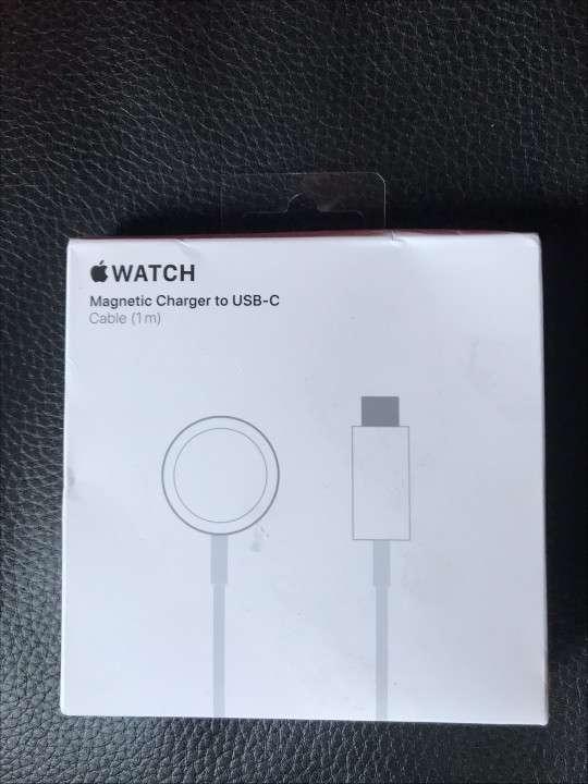 Cargador de Apple Watch conector tipo C - 1