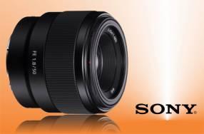 Lente Sony SEL 50mm f/1.8