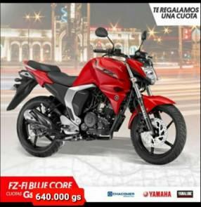 Moto Yamaha FZ F1 Blue Core