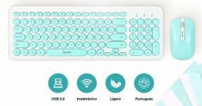 Kit teclado y mouse Quanta