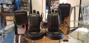 Radios con micrófono Motorola