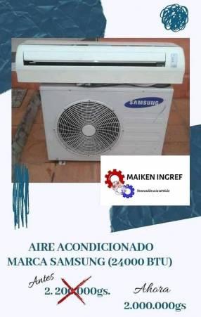 Acondicionador de aire Samsung 24.000 btu