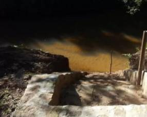 1 hectárea con arroyo en Ytu Caacupé