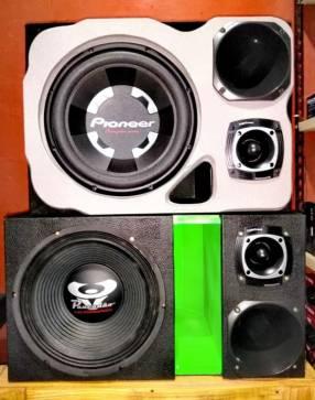 Cajas de sonidos