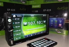 Autoradio Ecopower con pantalla táctil EP-619