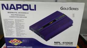Amplificador analógico Napoli de 800 watts