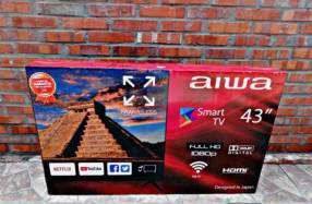 Smart tv full HD Aiwa 43 pulgadas