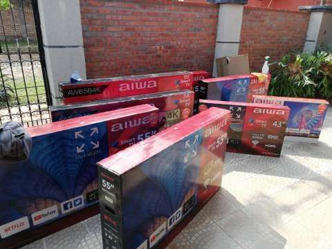 Smart tv HD Aiwa 32 pulgadas - 1