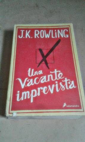 LIBRO DE J.K. ROWLING