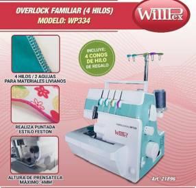 Máquina de coser Willpex