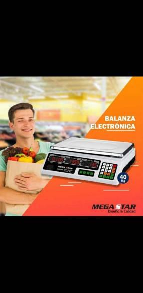 Balanza electrónica Mega Star