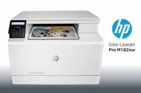 Impresora HP Laser Color Pro M182nw